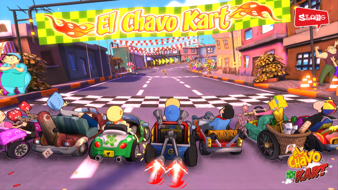 El Chavo Kart • Arquivos Classe Nerd