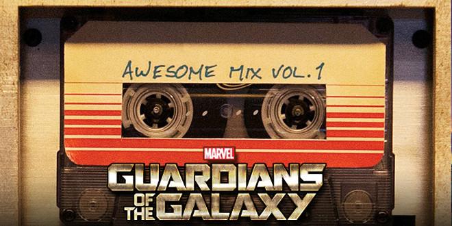 """Tenha sua versão original em k7 das """" Awesome Mix Vol. 1″ de Guardiões da Galáxia"""