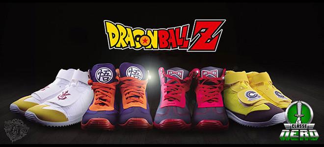 Empresa mexicana lança tênis inspirados em Dragon Ball Z