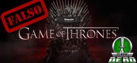 George R. R. Martin desmente em seu blog a confirmação de filme de Game Of Thrones