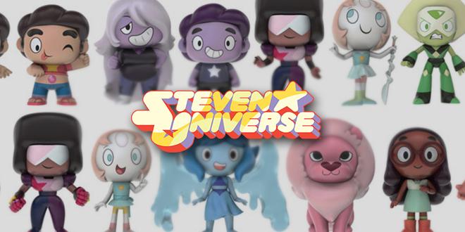 Steven Universo em versão pop, conheça a nova coleção da Funko