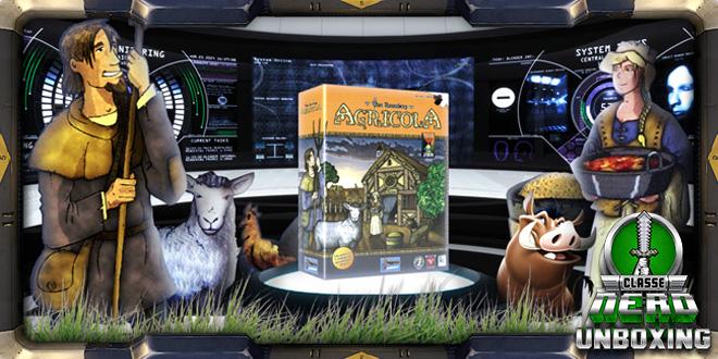Confira tudo que vem na caixa de Agricola no Classe Nerd Unboxing  #03 do boardgame