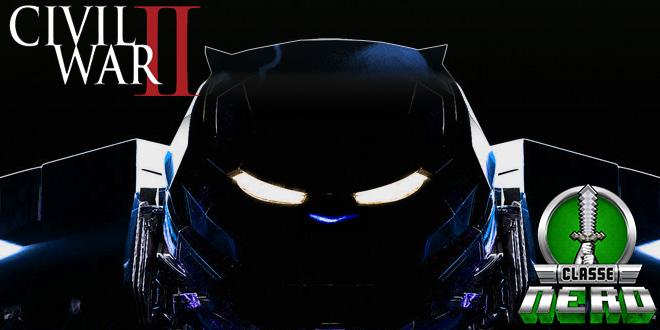 Hulkbuster esta de volta as HQs da Marvel mas com um pouco da cara de Wakanda