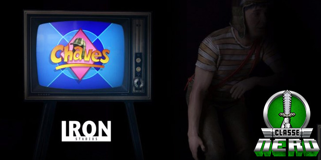 Iron Studios prepara série de estatuetas do ícone da TV Chaves