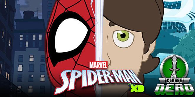 Nova animação de Homem – Aranha aproxima visual do personagem a sua nova versão dos cinemas