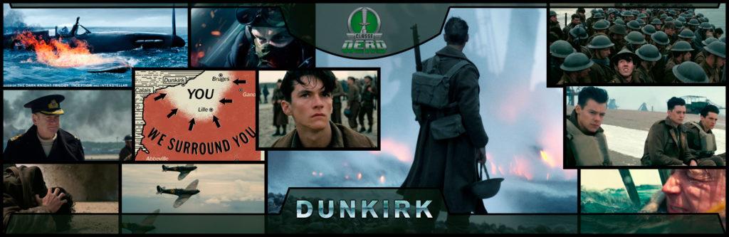 Imagem mostrando diversas cenas do filme Dunkirk