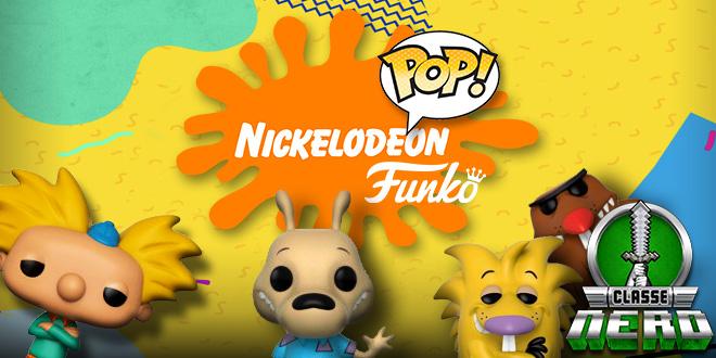 Clássicos Icônicos da Nickelodeon ganham versões Pop! Funko