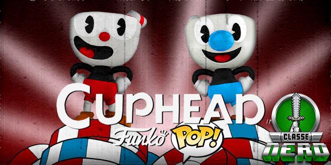 Cuphead e Mugman ganham versão selecionável Pop! Funko