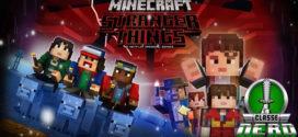 O Mundo Invertido invade o Minecraft com novo pacote de Skins inspirado em Stranger Things