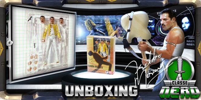 Classe Nerd Unboxing #5 – Action Figure Freddie Mercury Bandai SH Figuart