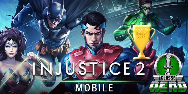 Google Play Store elege Injustice 2 Mobile o melhor game competitivo de 2017