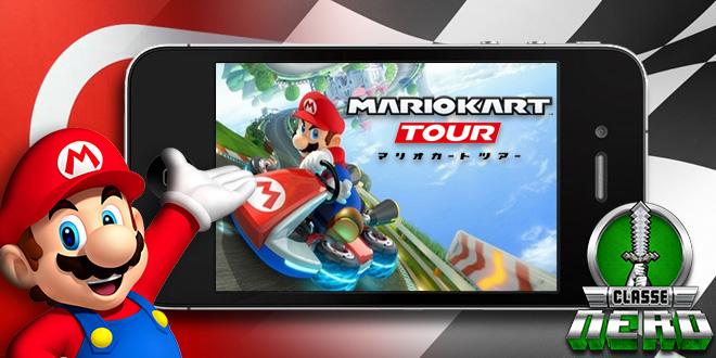 Nintendo está trazendo Mario Kart para os smartphones