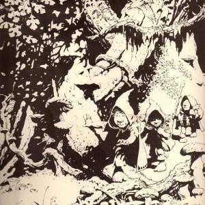 Senhor dos Anéis pela visão do Mestre Frank Frazetta