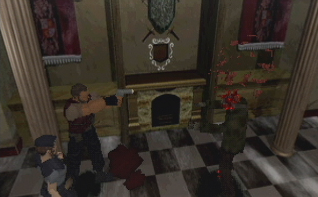 Resident Evil 1 para PS1 • Classe Nerd